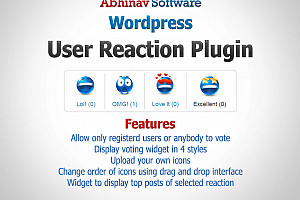 User Reaction Plugin for WordPress