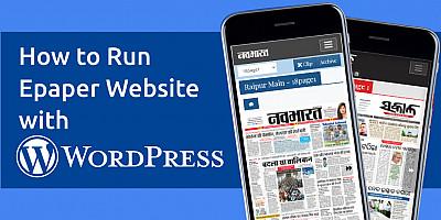 Can we create Epaper Site in wordpress?